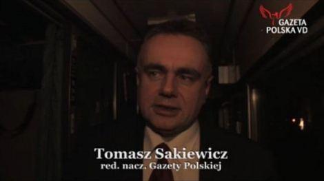 sakiewicz w pociągu z Budapesztu